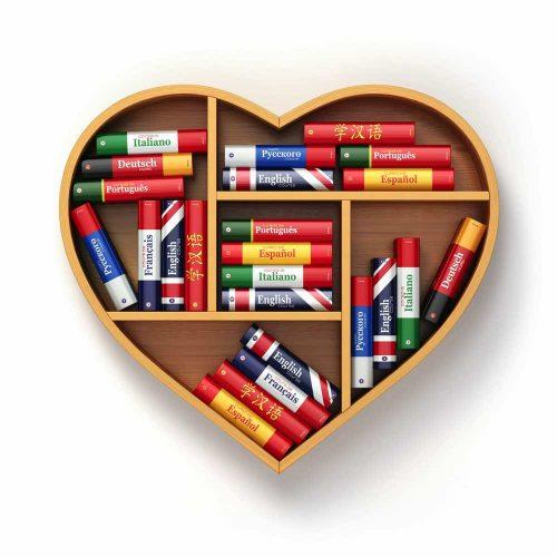 corazón de muchas lenguas