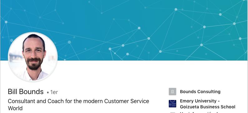 Bill Bounds LinkedIn Profile
